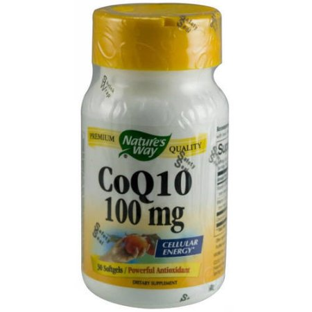 Nature's Way Cápsulas de CoQ10, 30 CT
