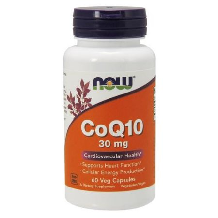 CoQ10 30mg NOW 60 Caps Alimentos