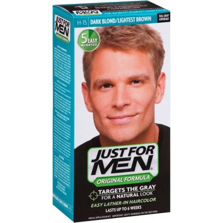 Just For Men Color de Pelo H-15 Rubio Oscuro 1 Cada