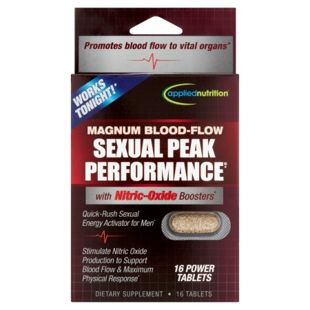 APPLIED NUTRITION Sexual Peak Performance rendimiento sexual 16 Tabletas