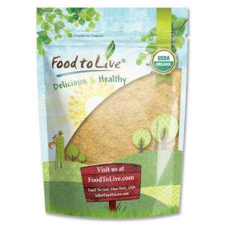 Food To Live orgánico certificado raíz de maca en polvo (no-GMO Crudo Planta Raíz de Maca harina a granel) (4 onzas)
