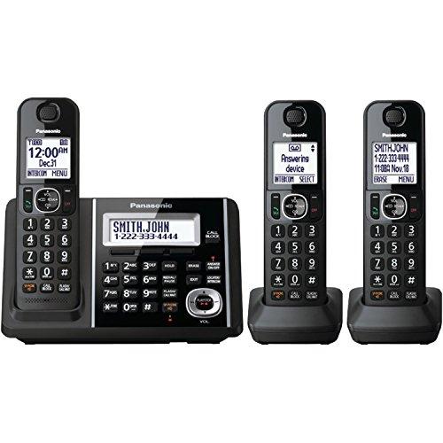 Teléfono de fijo 3-auricular Dect Panasonic KXTGF343B