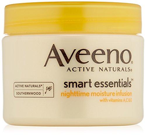 Aveeno Smart Essentials humedad nocturna infusión, 1,7 onzas