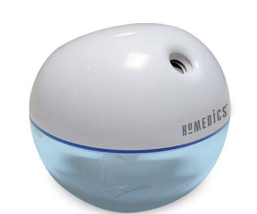 HoMedics Personal humidificador ultrasónico de vapor frío, blanco