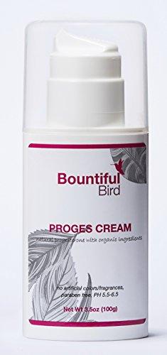 Abundantes aves - crema de progesterona Natural - hierbas orgánicas, progesterona bioidéntica, hormona Balance crema, administre PMS y síntomas de la menopausia natural - 3.5 oz botella - dinero atrás garantía de 100%