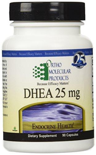 Productos Orto Molecular - DHEA 25 mg - 90 cápsulas