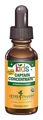 Hierba Pharm niños fórmula orgánica certificada sin Alcohol capitán concentrado a base de hierbas, 1 onza