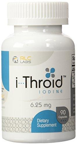 RLC Labs i-Throid yodo 6,25 mg - 90 cápsulas