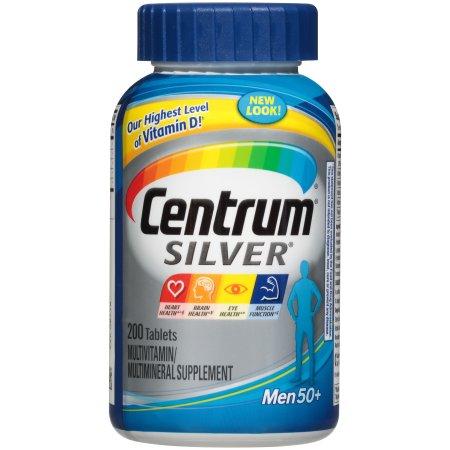 Centrum Silver multivitamínico - multimineral Suplemento hombres Ultra para 200 ct
