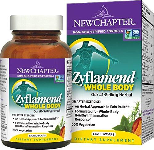 Nuevo capítulo Zyflamend Whole Body con cúrcuma, analgésico Herbal para la inflamación respuesta - ct 120