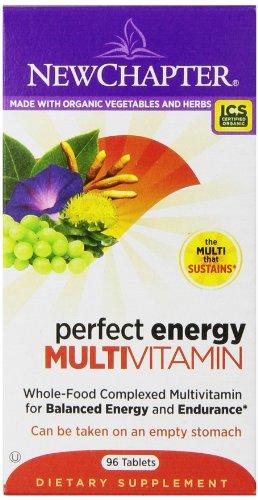 Nuevo capítulo perfecto energía multivitamínico, 96 tabletas