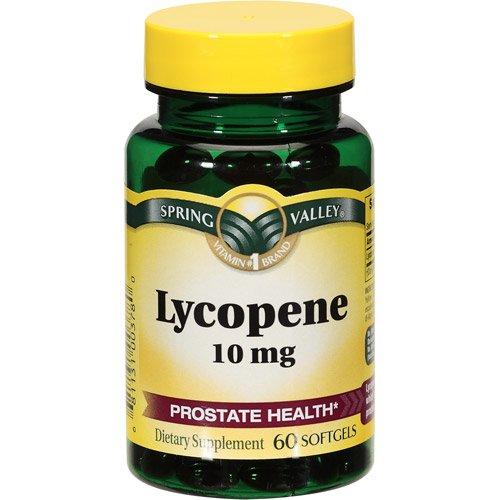 Spring Valley - licopeno 10 mg, 60 cápsulas