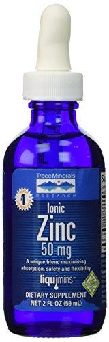 Trazas minerales investigación cinc iónico--50 mg - 2 fl oz