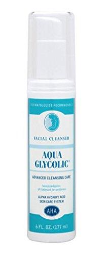 Limpiador Facial glicólico Aqua, 6 oz
