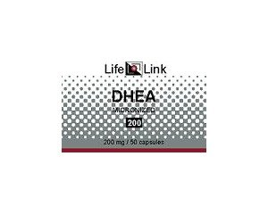 DHEA 200mg LifeLink 50 Caps