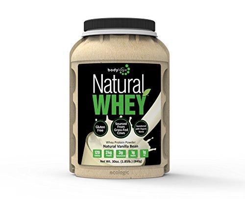 Nutrición de proteína de suero de Bodylogix Natural Shake, vainilla Natural, 1,85 libras