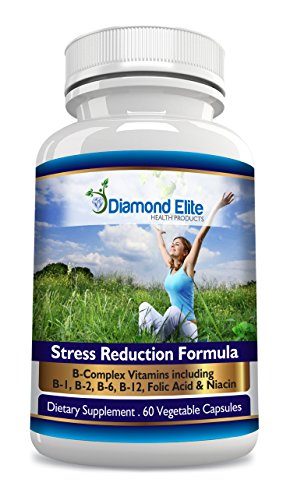 Diamond Elite potente ansiedad y aliviar el estrés y ayuda para dormir - Top Rated, alivio de la ansiedad de acción rápida. Un suplemento Natural diseñado para ayudar a superar rápidamente el estrés, la ansiedad, ansiedad Social y ataques de pánico. Nuest