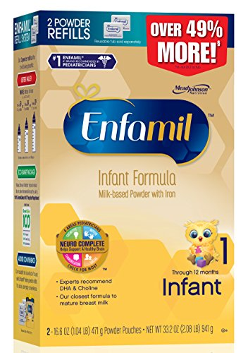 Fórmula para bebés Enfamil Infant - 33,2 onzas caja de relleno