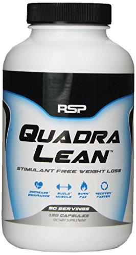 Nutrición de RSP Quadralean cápsulas, cuenta 150