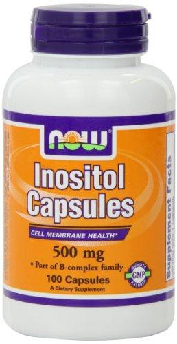 AHORA alimentos Inositol, 100 cápsulas / 500mg
