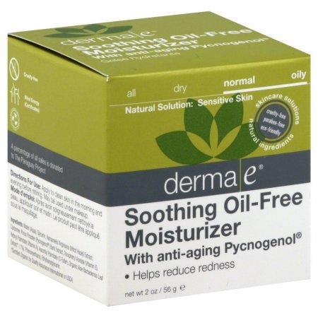 derma e Calmante Hidratante sin aceites con Anti-Aging Pycnogenol, 2 Oz