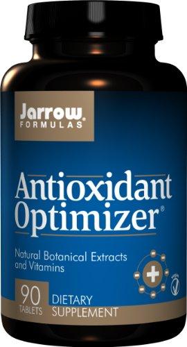 Jarrow Formulas antioxidantes Optimizer, soporta visión, Salud Cardiovascular, 90 Tabs