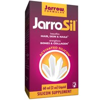JarroSil JARROW, activado silicio 4 MG/10 gotas 60 ML (multi-Pack)