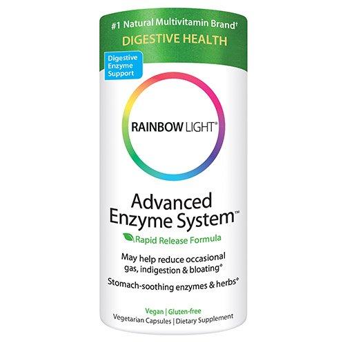 Arco iris luz avanzada enzima sistema fuente vegetal Vcaps 180 vcaps