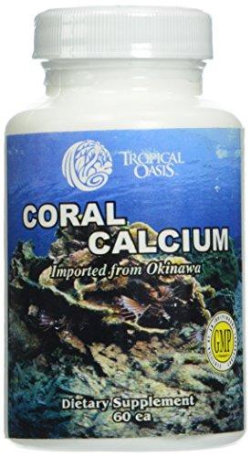 Oasis Tropical Coral calcio--60 cápsulas
