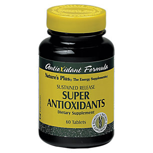 Nature's Plus - súper antioxidantes S / R TAB 60