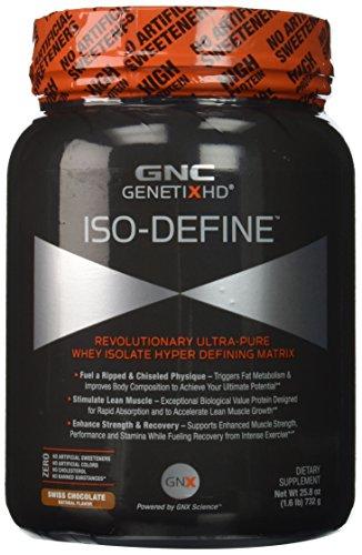 GNC GenetixhdTM Iso-defineTM - lb 1,6 Chocolate suizo