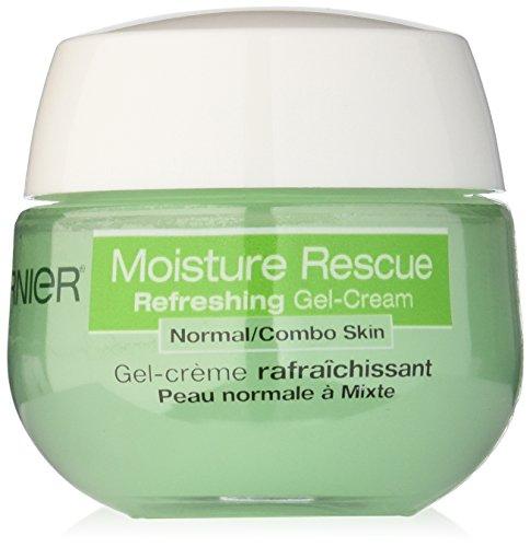 Humedad de Garnier rescate Gel-crema para piel Normal/Combo, 1.7 onza líquida (embalaje puede variar)