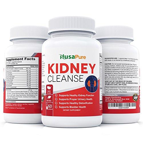 Limpieza de riñón con extracto orgánico: apoya la vejiga urinaria y Control de salud: todas las hierbas naturales para riñón salud, desintoxicación y descarga: 100% garantía de devolución del dinero