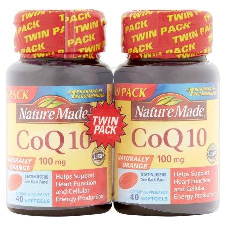 Nature Made CoQ10 Liquid Softgels 80 Caps