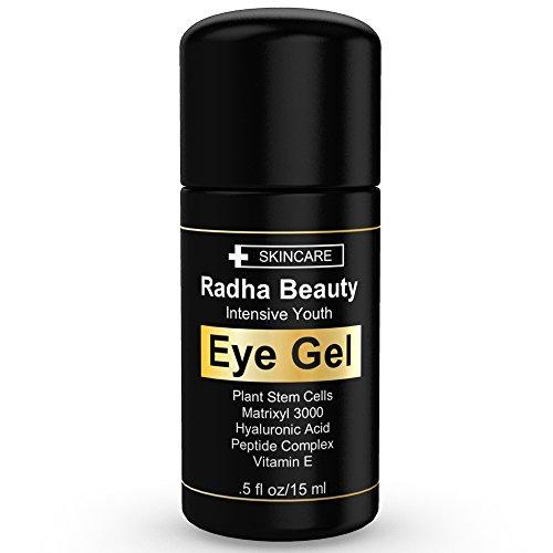 Crema contorno de ojos de oscuro círculos, ojeras, bolsas y arrugas - el gel de ojos más eficaz para cada ojo se refieren - All Natural -.5 fl oz