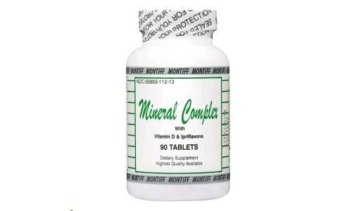 Complejo mineral w/D & la ipriflavona 90 cápsulas
