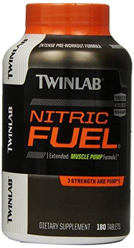 Twinlab Twl combustible nítrico suplemento alimenticio tabletas, cuenta 180