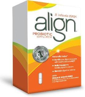 "Alinear digestivo Care suplemento probiótico, cápsulas, ea 28 (pack de 5) ""."
