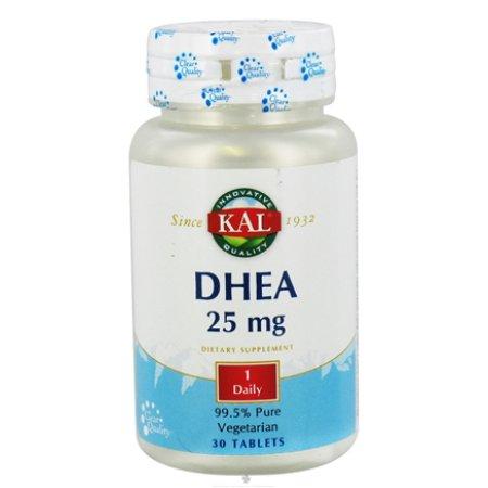 Kal DHEA la tableta BTL-plástico 25mg 30 Caps