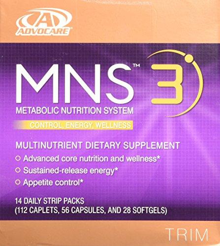 Advocare MNS 3 14 paquetes de tira diarios