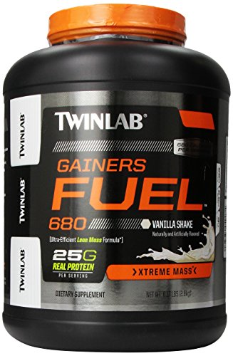 Twinlab Gainers combustible 680 Shake, vainilla, 6,17 libras