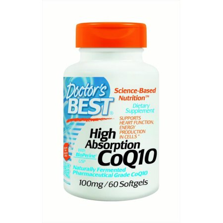 Doctor's Best Alta absorción CoQ10 100 mg, 60 Ct