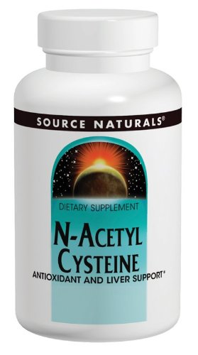 Source Naturals N-acetil cisteína 1000mg, 120 tabletas