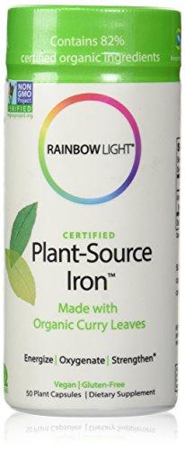 Cápsula de 50 de hierro de fuente de la planta de luz de arco iris