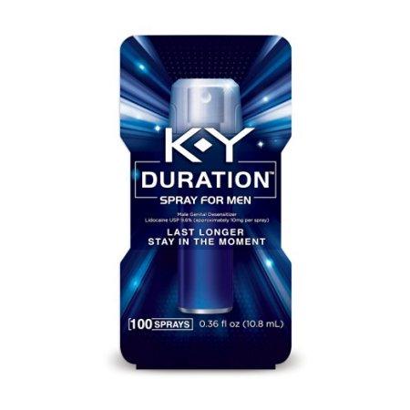 K-Y ® Aerosol Duración ™ Hombres 0.16 fl. onz.  Caja