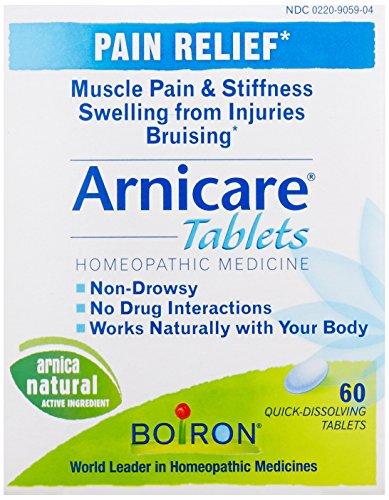 Alivio del dolor de Arnicare tabletas