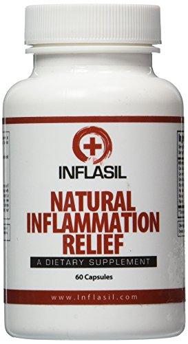 #1 clasificado Inflasil - fórmula de alivio de la inflamación. Natural Anti inflamación suplemento disponible para el tratamiento de la inflamación aguda o crónica. Respuesta inflamatoria interna ayuda a combatir el estrés moderno.