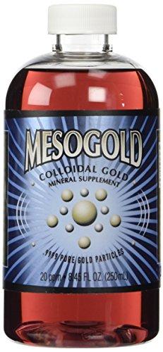 Oro coloidal de 20 ppm de MesoGold ® 250 mL/8.45 Oz