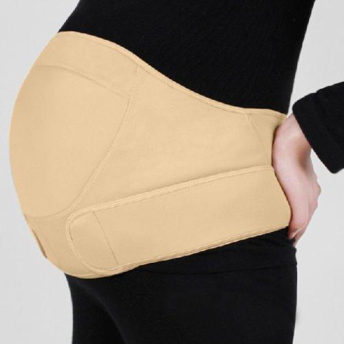 SODIAL(R) nuevo embarazo maternidad especial cinturón de soporte tope detrás bebé de vientre cinturón