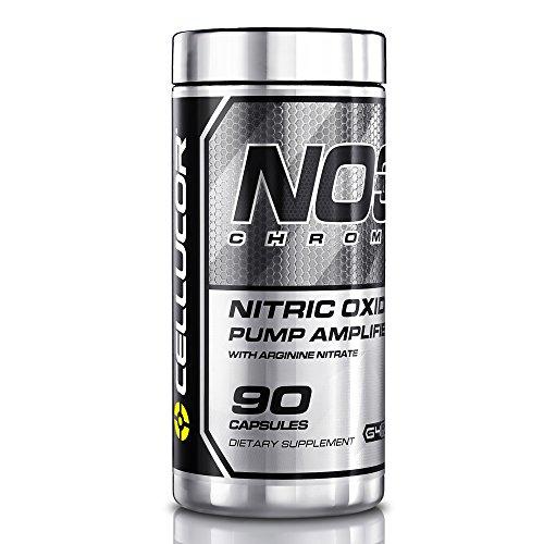 Cellucor NO3 cromo óxido nítrico suplementos con arginina nitrato Boosters, 90 cápsulas, serie G4